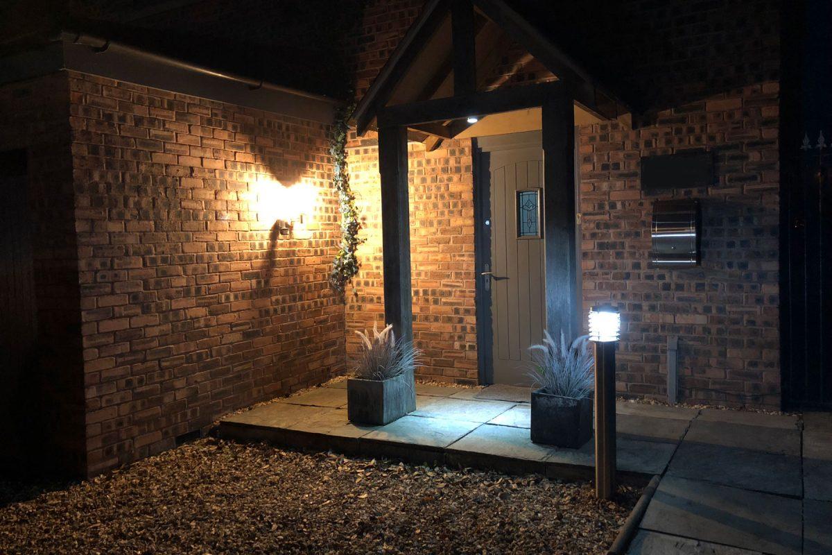 Garden and driveway lighting